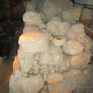 Foundations of Tower at Gihon Spring