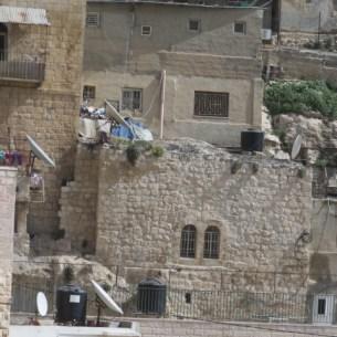 Typical Yemenite Jewish architecture in Kfar Hashiloah-Silwan
