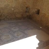 Mosaic floor