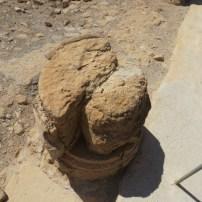 Twin column stones