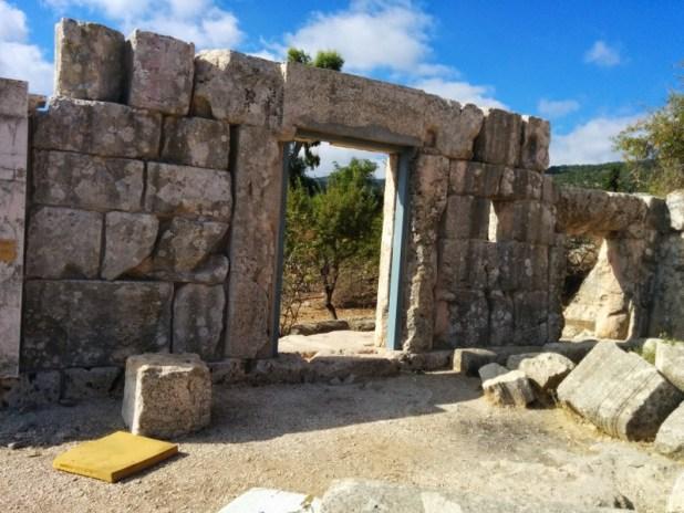 Ancient Synagogue in Meron