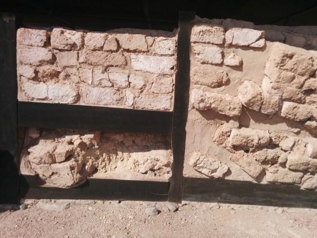 Yavin's Palace - restored wooden reinforcements