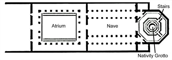 Octogonal Nativity Grotto