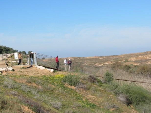 Nachal Besor Suspension Bridge