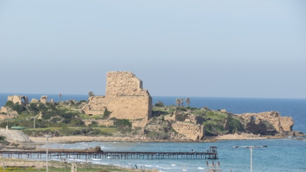 Chateau Pelerin Crusader Atlit Fortress and Port