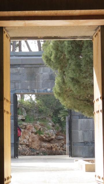 Baron Rothschild's Grave Entrance to the Mausoleum
