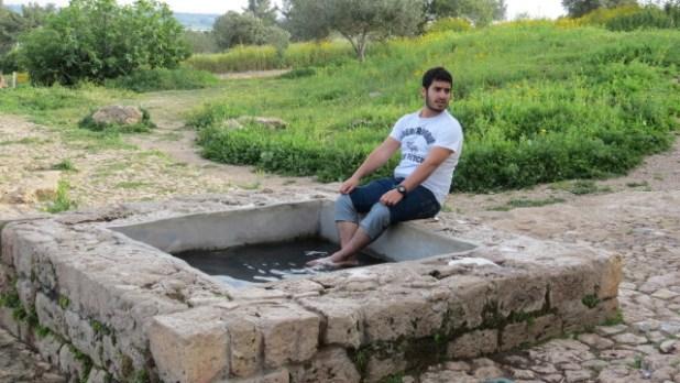 Ein Tzur - small pool