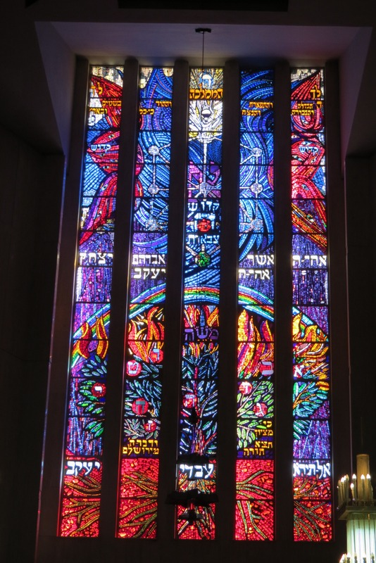 Front stained glass windows