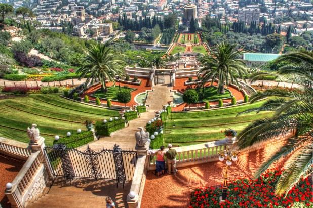 Bahai gardens haifa - http://www.guidetrip.com/s/Israel/Haifa/Israel-haifa-bahai-gardens-half-day-tour