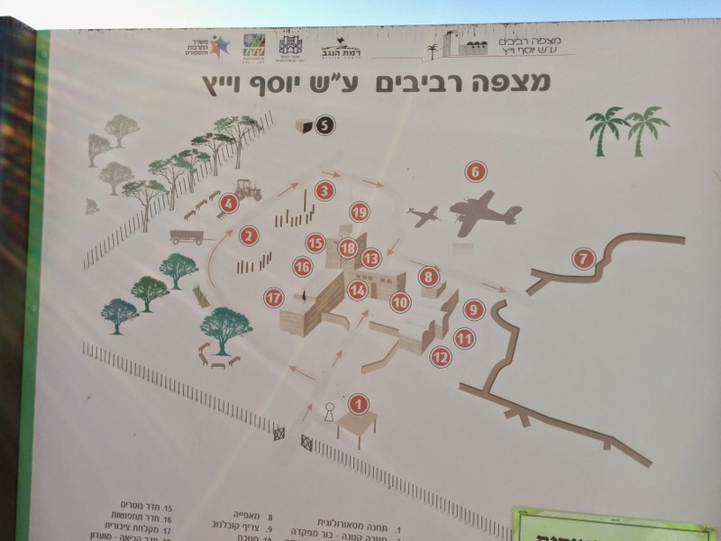 Mitzpe Revivim Map