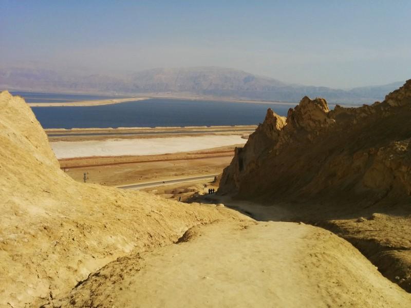 Mount Sodom descent