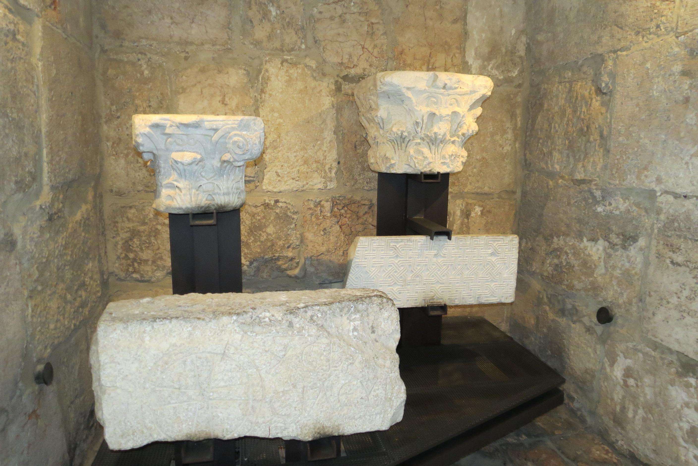 David's Citadel - found  on site