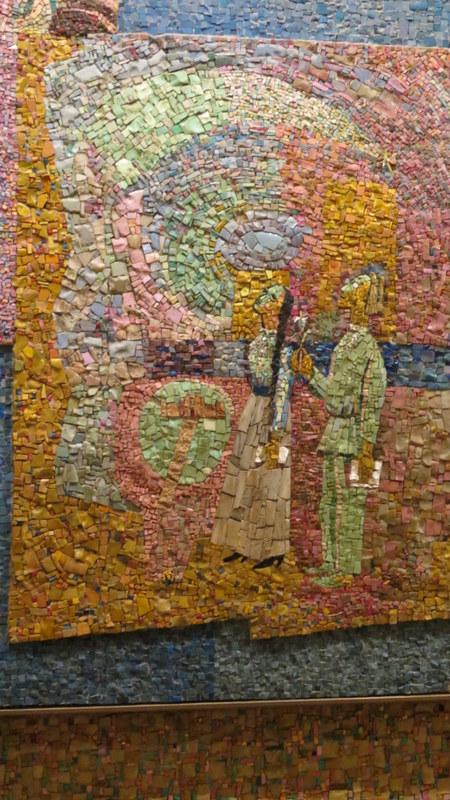 Nahum Gutman's Mosaic Wall -Alexander Penn and Chana Robina
