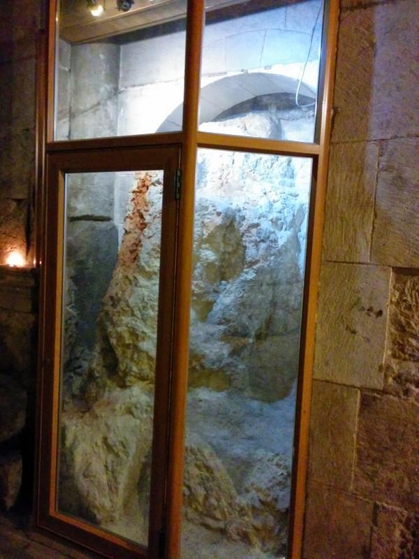 Rock of Golgotha