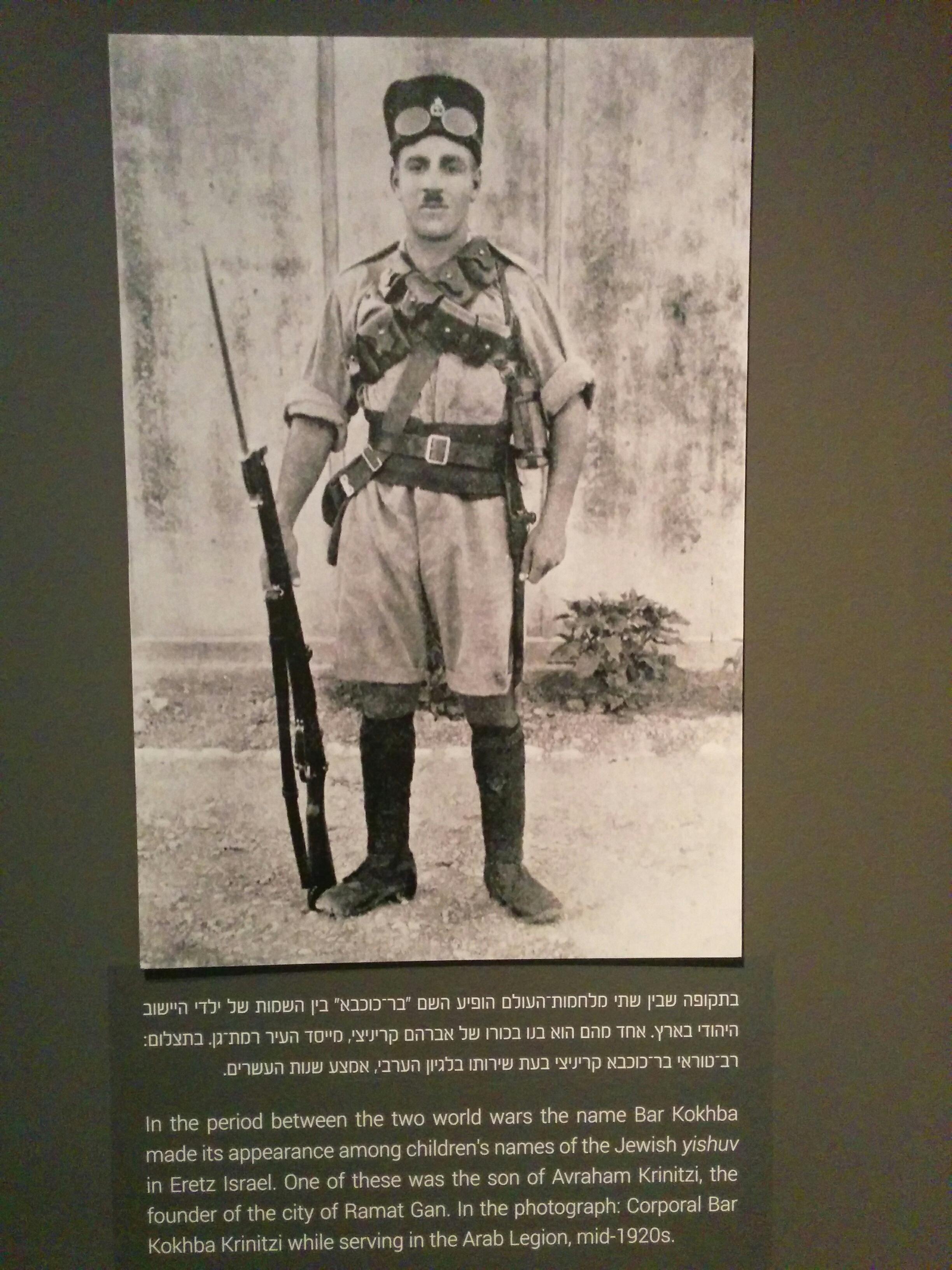 Bar Kokhba as a name - Shimon Bar Kokhba - Eretz Israel Museum