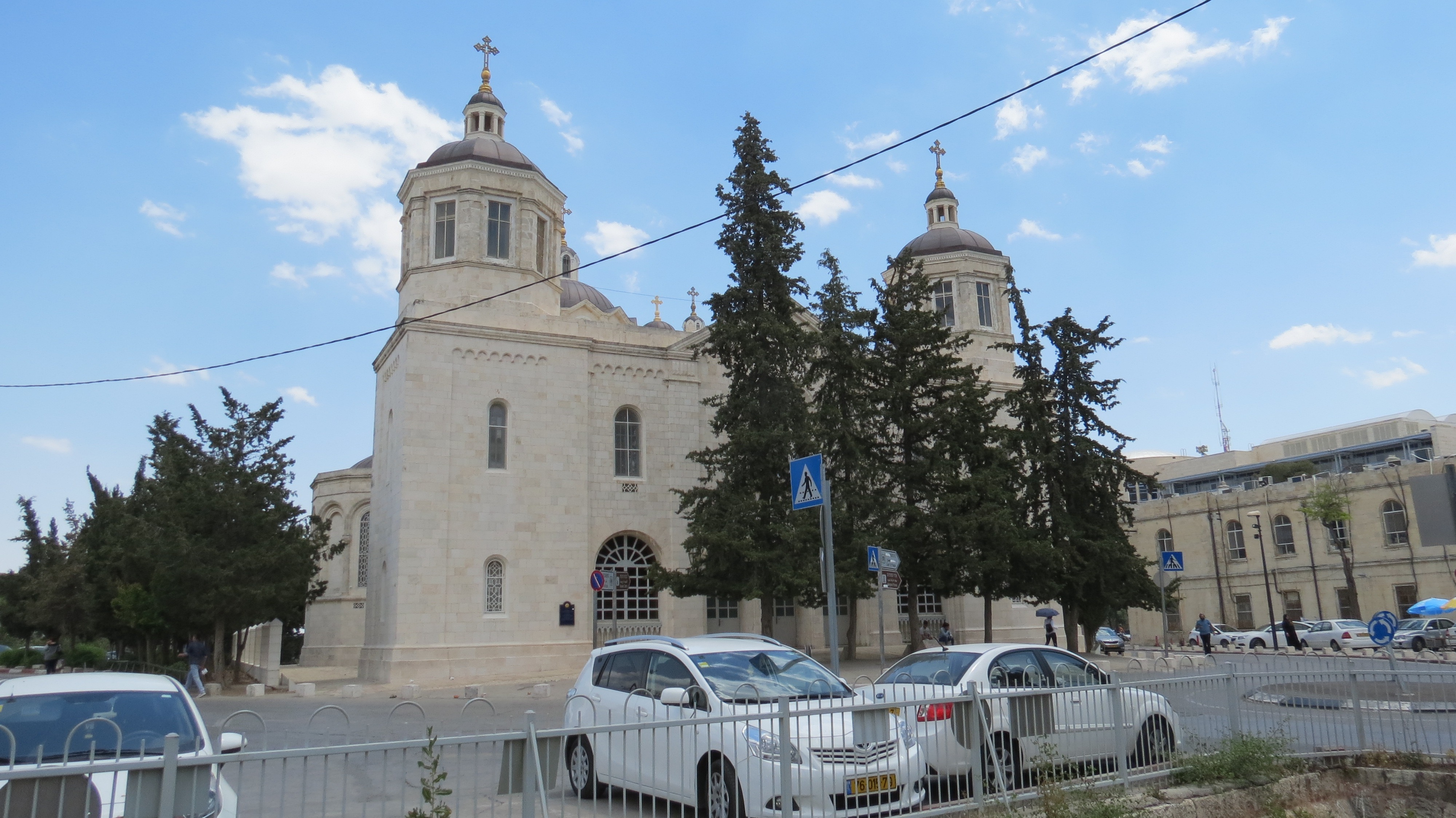 The Russian Compound- The Holy Trinity church