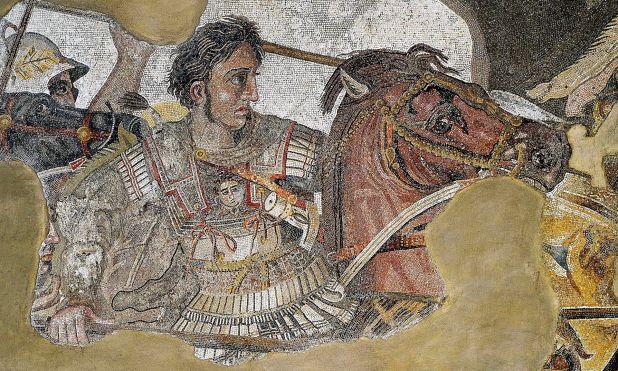 Alexander Mosaic, National Archaeological Museum, Naples