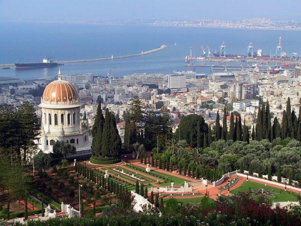 Shrine of the Bab and_Haifa Port