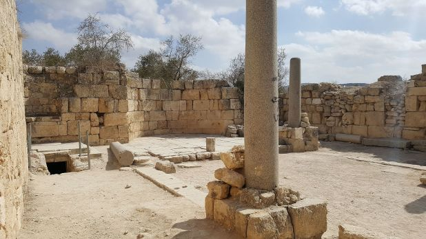 Byzantine church in Shomron_capital_of_the_Kingdom_of_Israel Photo: Ovedc -