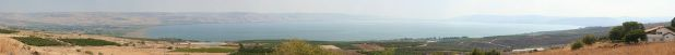 Panoramic view of the Sea of Galilee Photo: Beivushtang
