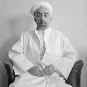 Abdullah King of Transjordan/Jordan 1921-1951 - Public Domain