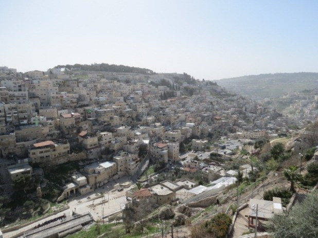 Silwan and Kidron Valley