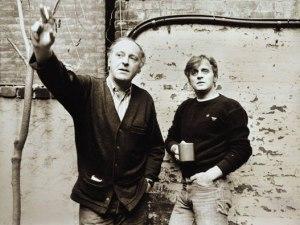 Иосиф Бродский и Михаил Барышников, 1985 год. Фото: Leonid Lubianitsky