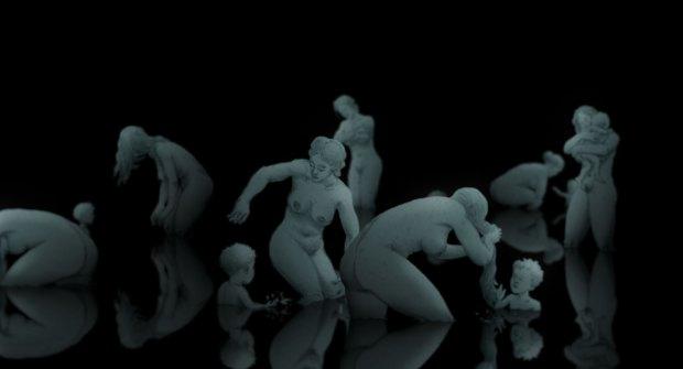 кадр из мультфильма Гиппопотамы