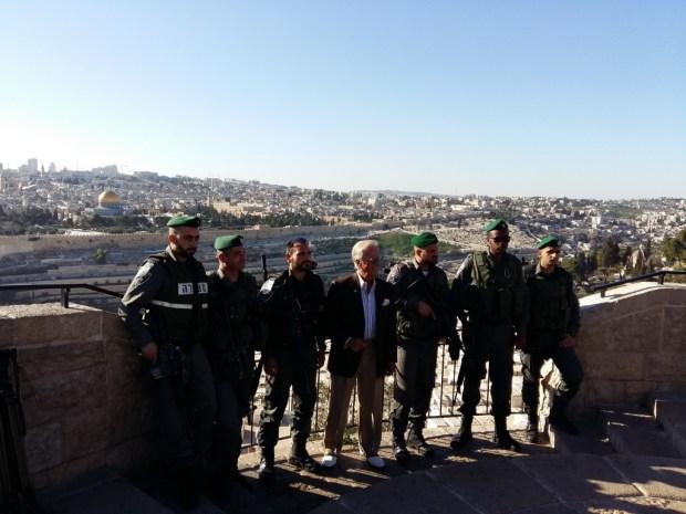 Пэт Бун в Израиле