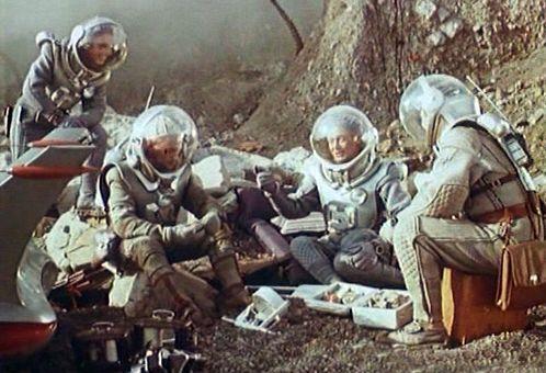 Планета Бур, Павел Клушанцев, 1962