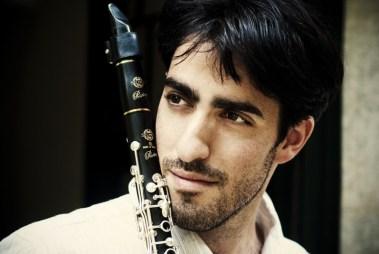 Кларнетист Тиби Цайгер. Фото: Б. Борох