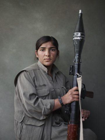 Joey Lawrence Photographer. Kurdistan Workers Party Makhmour Iraq Guerri.
