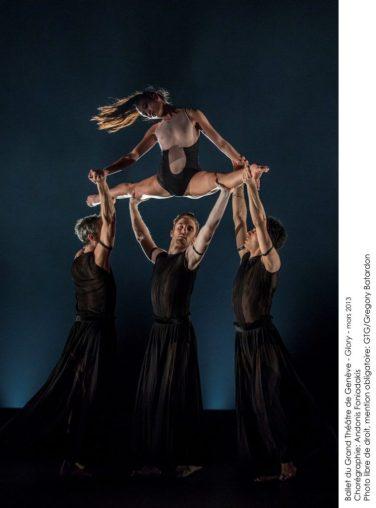 "Сцена из балета ""Glory"". Фотограф: © Gregory Batardon"
