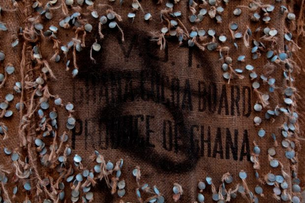 Ибрагим Махама. «Разлом» (деталь)