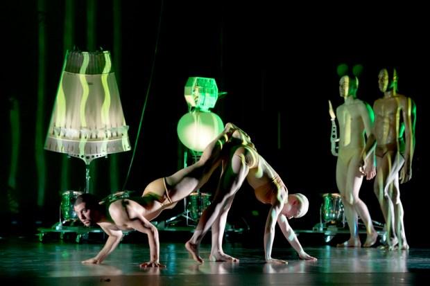 «Robot» хореографа Бланка Ли