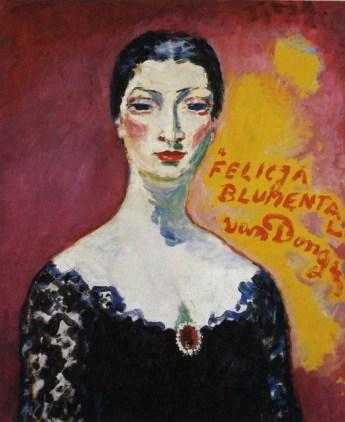 Портрет Фелиции Блюменталь кисти Кесса Ван Донгена 1957 год. Тель-Авивский музей