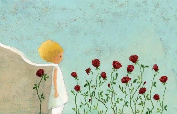 """Маленький принц и розы"". איור וצילום ענבל לייטנר"