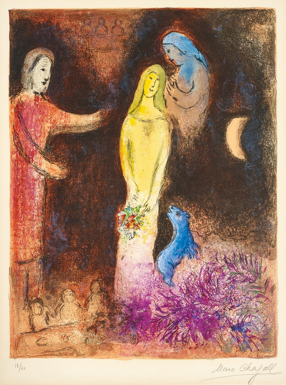 Marc Chagall. Chloe dressed and Capped by Cleariste