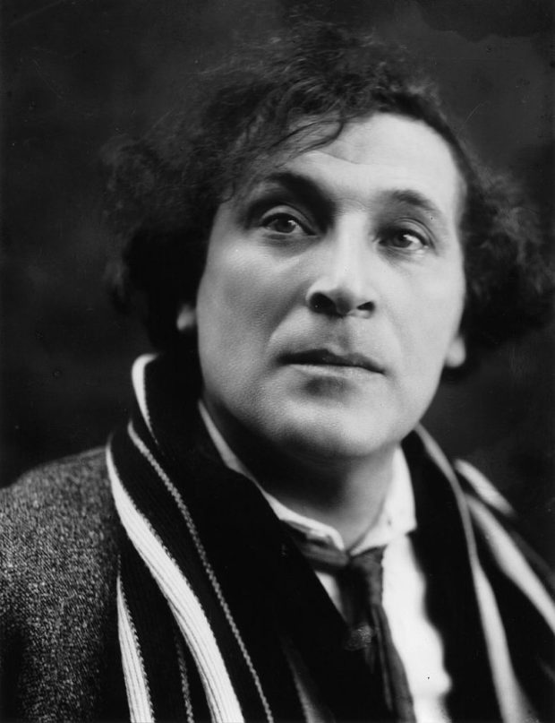 Marc Chagall, c.1920 (by Pierre Choumoff) - Wikipedia