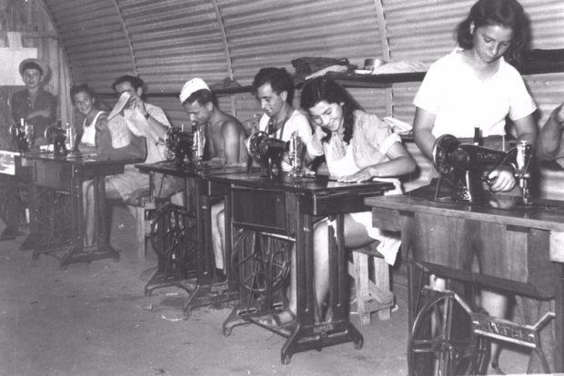 Год жизни в лагере на Кипре, Уроки портняжного мастерства, организованные Джойнтом для подростков