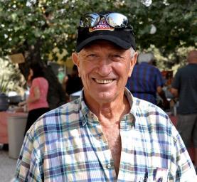 Гершон Коэн на фестивале в Абу-Гош - фото Дани Арад