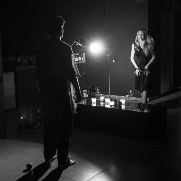 Cцена из спектакля Панда - фото © Ольга Дубова