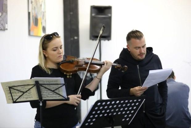Марианна Васильева и Дмитрий Синьковский - фото © Илья Базарский