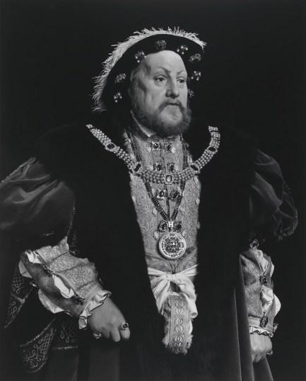 Hiroshi Sugimoto. Henry VIII, 1999, gelatin silver print
