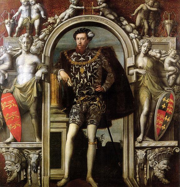 Уильям Скротс. Генри Говард, граф Суррей 1546