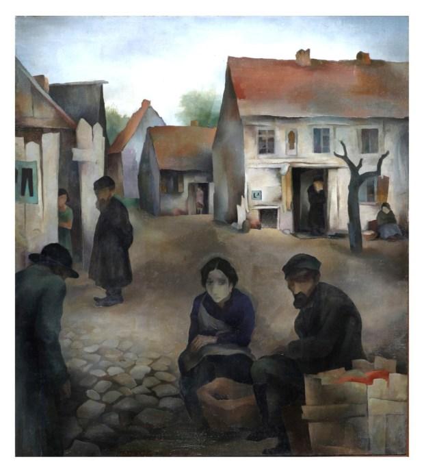 Йосеф Будко. Рынок. 1927