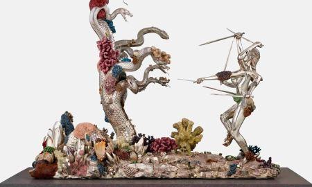 """Дэмиэн Херст """"Гидра и Кали"""", 2008. Фотография Prudence Cuming Associates. © Damien Hirst and Science Ltd. Все права защищены, DACS 2019"""