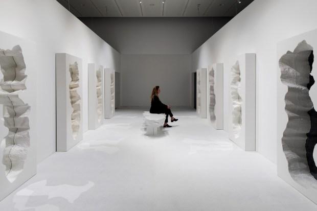Hall of Broken Mirrors, Snarkitecture, Gufram. Image Credit - Elad Sarig