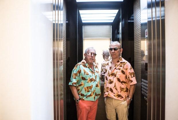 Андрей Макаревич и Саша Галицкий. Фото © Эйнат Клейн