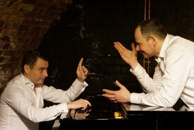 Евгений Борец и Даниил Спиваковский. «Диалоги» . Фото © Маргарита Шол